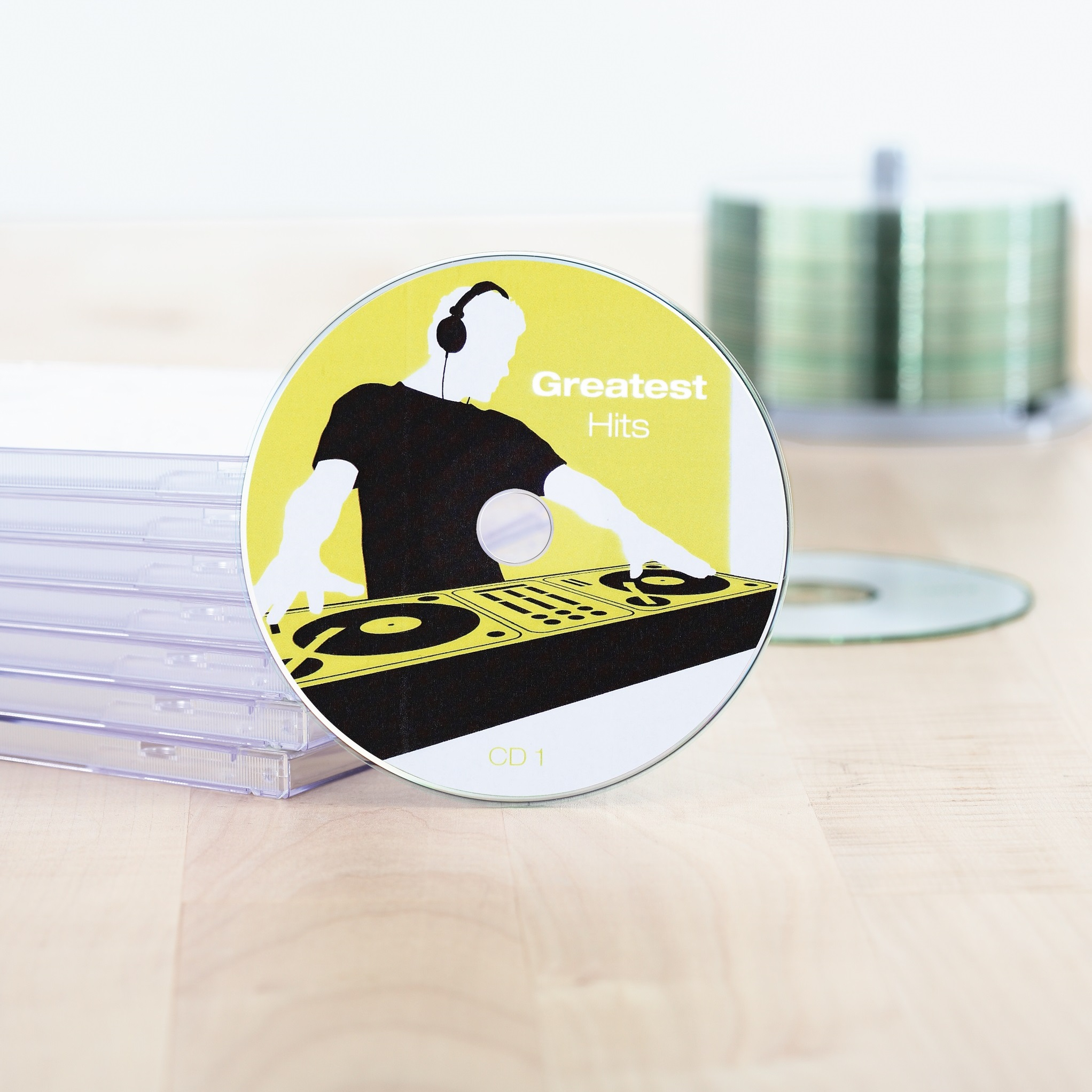 CD labels Maxi A4, SuperPrint-5115