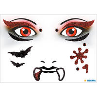 Face Art Stickers Glitter Face Stickers From Herma